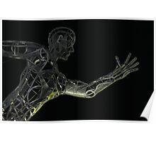 The Sprinter (detail) Poster