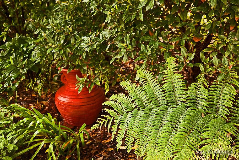 Earthern jug by Gary Wooldridge