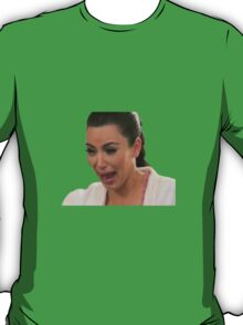 Kim Kardashian Crying T-Shirt