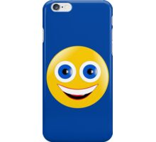 Yellow Smiley iPhone Case/Skin