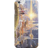 The Prologue And The Promise Disney EPCOT Center Future World Horizons Mural Robert McCall iPhone Case iPhone Case/Skin