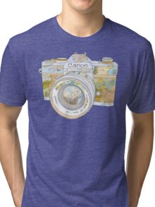 TRAVEL CAN0N Tri-blend T-Shirt