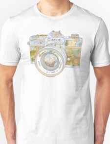 Travel Canon Unisex T-Shirt