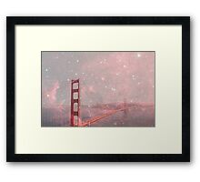 Stardust Covering San Francisco Framed Print
