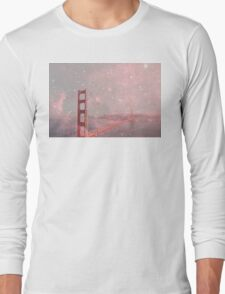 Stardust Covering San Francisco Long Sleeve T-Shirt