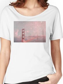 Stardust Covering San Francisco Women's Relaxed Fit T-Shirt