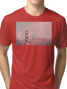 Stardust Covering San Francisco Tri-blend T-Shirt