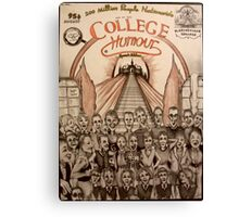 College Humour ( 1984 ) Canvas Print