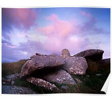 The Cheesewring, Bodmin Moor, Cornwall Poster