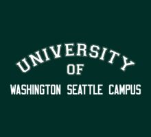 UNIVERSITY OF WASHINGTON SEATTLE CAMPUS by HelenCard