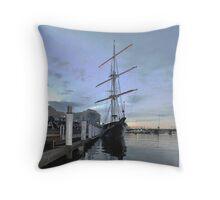 Tall Ship, Fleet Review, Darling Harbour, Sydney 2013 Throw Pillow