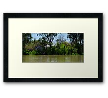 Restful Retreat - Murray River Framed Print