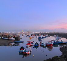 Sunset over south gare by pd1001