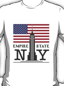 The Empire State Building, NY T-Shirt