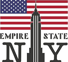 The Empire State Building, NY by SHTTT