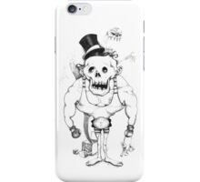 Of zombies and monsters iPhone Case/Skin