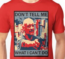 LOST - John Locke - Don't Tell Me What I Can't Do Unisex T-Shirt