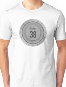 Lucky 38 - Platinum Chip Unisex T-Shirt