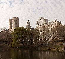 Central Park Glamorous Apartment Buildings - Manhattan, Upper West Side by Georgia Mizuleva