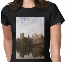 Central Park Glamorous Apartment Buildings - Manhattan, Upper West Side Womens Fitted T-Shirt
