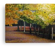SOLD - Oil - Autumn Woods Canvas Print