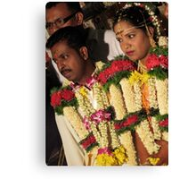 The Groom and Bride Canvas Print