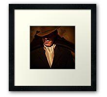 Tango - El Hombre Framed Print