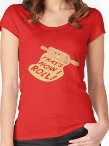 Dough Style Women's Fitted Scoop T-Shirt