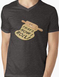 Dough Style Mens V-Neck T-Shirt