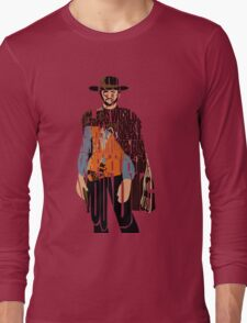 Blondie - The Good, The Bad and The Ugly Long Sleeve T-Shirt
