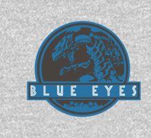Blue Eyes  White Jurassic Dragon  Kids Tee