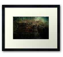 Endless Pounding Framed Print