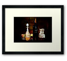 The Drinks Tray Framed Print