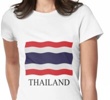 Thailand flag Womens Fitted T-Shirt
