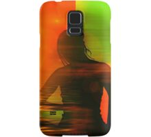 Yoga meditation Samsung Galaxy Case/Skin