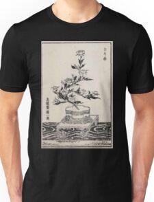Shofu Enshuryu ikebana hamana no umi Flower Arrangement Toto Shoshi V1 1835 0032 Unisex T-Shirt