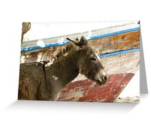 Donkey - JUSTART © Greeting Card