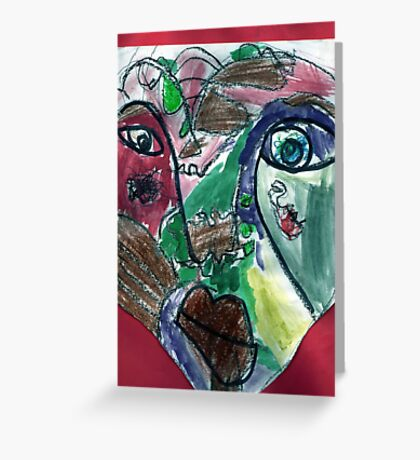 Primary Impression Greeting Card