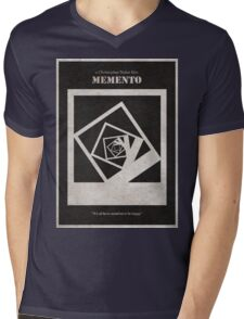 Memento Mens V-Neck T-Shirt