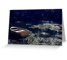 Wooden Boats,Richmond,Tasmania Greeting Card