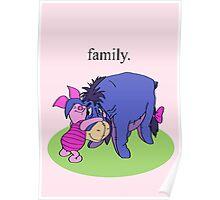 Eeyore and Piglet Poster