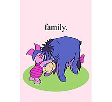 Eeyore and Piglet Photographic Print