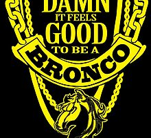 damn it feels good to be a bronco by trendz