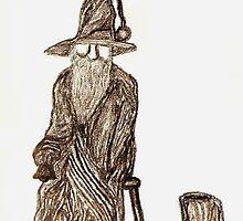 Human Statue by Matthew Rogers