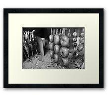 Dango And Sanma Framed Print