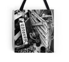 Charged & Waiting Tote Bag