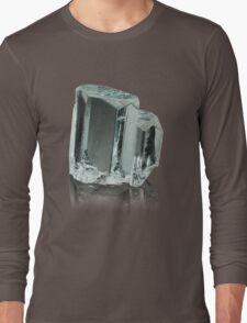 Beautiful Aquamarine Crystal Long Sleeve T-Shirt