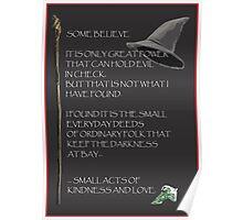 GandalfWizdom Poster