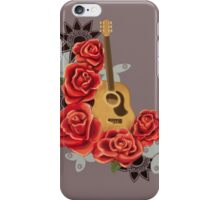 The Music Blooms iPhone Case/Skin