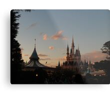 Tokyo Disneyland Sunset Metal Print